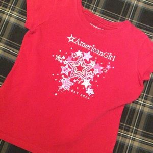 American Girl Shirts & Tops - American Girl Bay Area Red T-shirt size M (10/12)